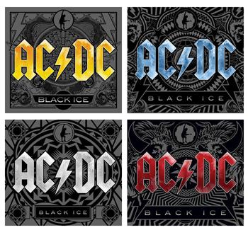 AC/DC - Capas Black Ice
